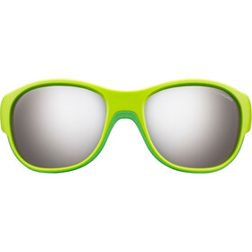 Julbo Luky Spectron 3+ Sunglasses 4-6Y Kinder green/green-gray flash silver